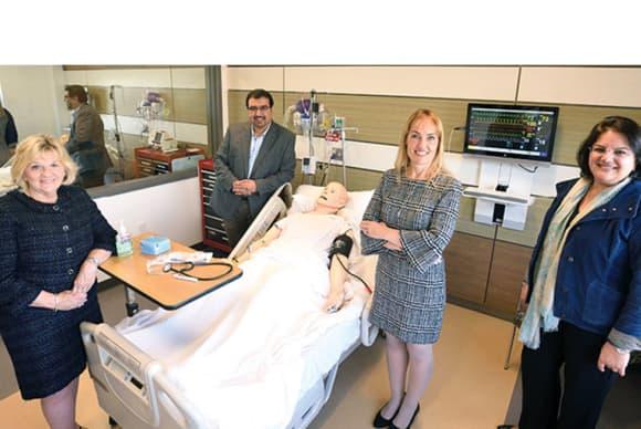 University of Bridgeport meeting a need for health care simulator training