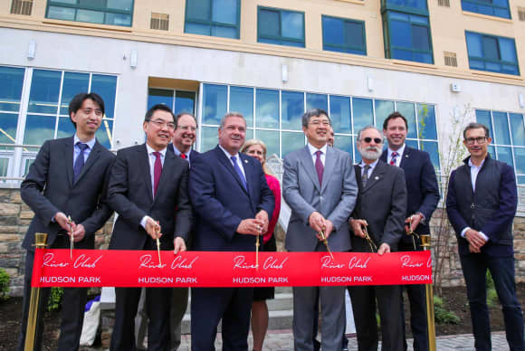 China Construction America marks opening of River Club at Hudson Park in Yonkers