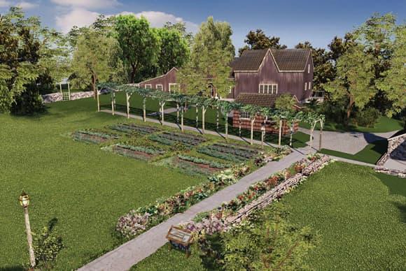 Historic gardens revived