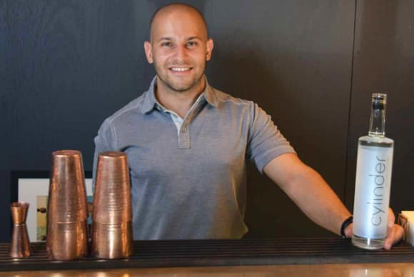 Suite Talk: Stelios Stavrianos, founder and CEO of Cylinder Vodka