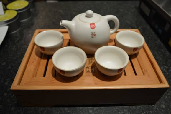 Tea-ing off