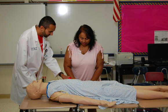 White Plains Hospital Trains, Equips Schools To Stop The Bleed In An Emergency