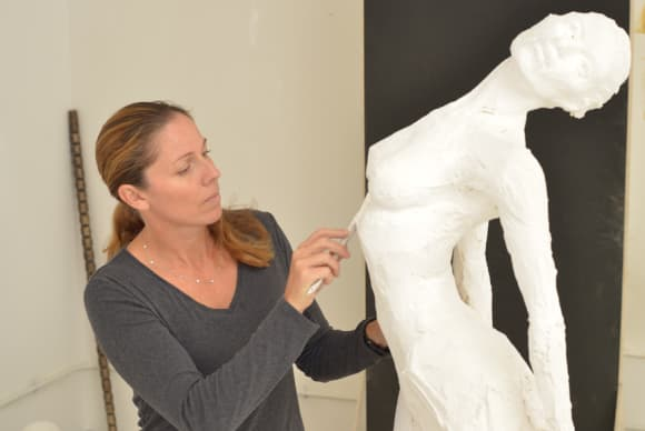 The magical world of sculptor Paige Bradley