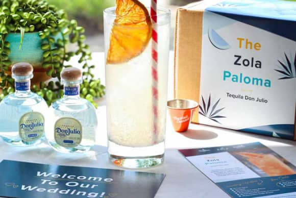 Diageo creates customized products for wedding market