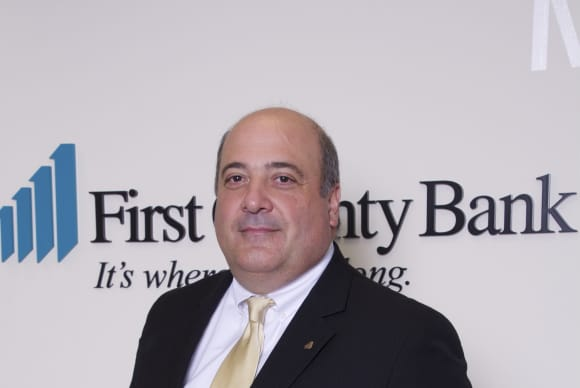 Robert Granata officially takes over as First County Bank chairman/CEO