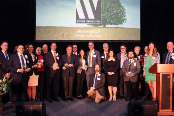 Family-owned businesses honored at Westfair Communications event