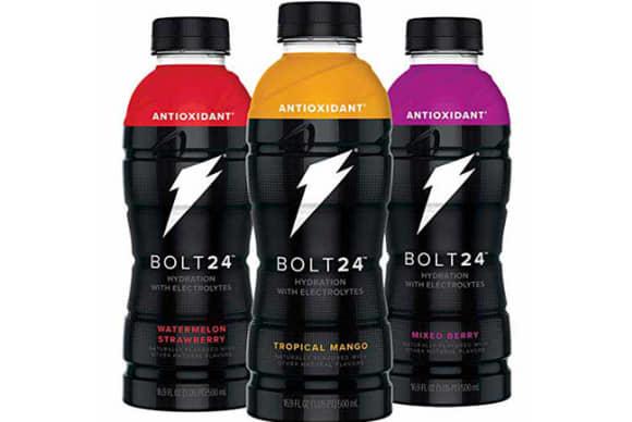PepsiCo's Gatorade brand unveils Bolt24 sports drink line
