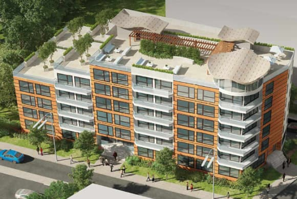 6-story residential building proposed for Hartsdale's Four Corners