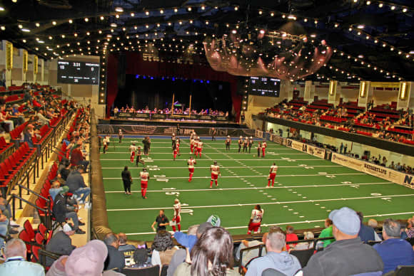 New York Streets kick off arena football at Westchester County Center