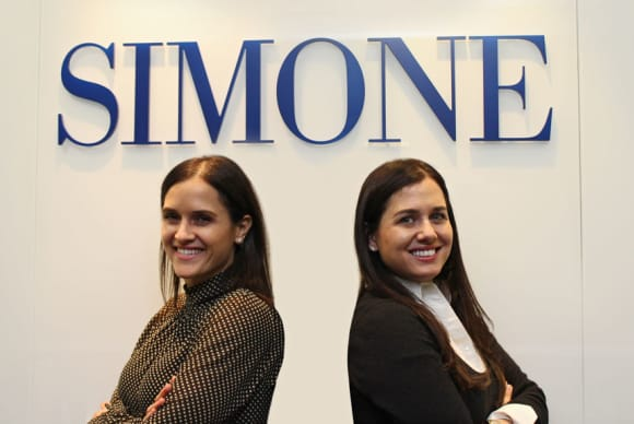 The Simone Sisters: Following dad's path in real estate