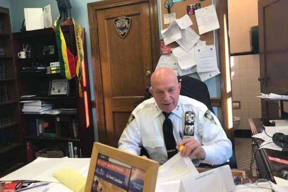 Westchester Police Chief, Ex-High School Star Athlete, Now Wrestles With Parkinson's Disease