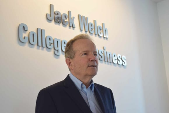 A dean's farewell: John Chalykoff on leaving the Welch College of Business