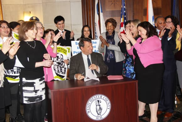 Latimer signs Immigrant Protection Act into law