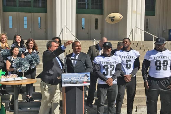 New York Streets football franchise comes to Westchester