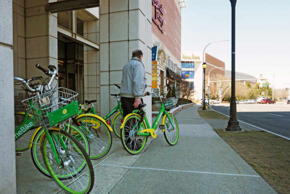 Lime riding high as power-assist bikes roll into White Plains