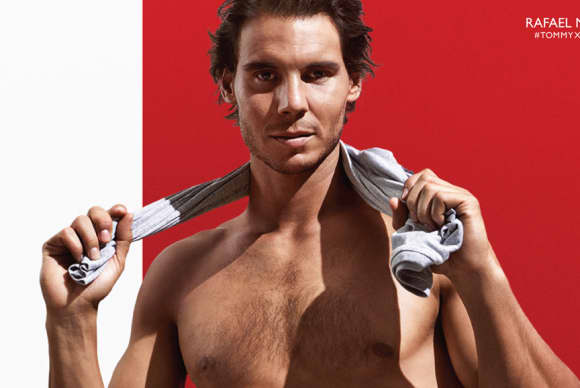 Rafael Nadal – fashion muse