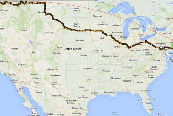 Broker Ken Fuirst's cross-country ride