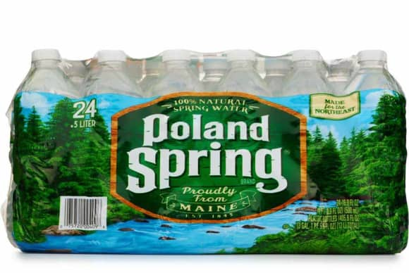 Poland Spring aims for 100% recycled plastic packaging by 2022
