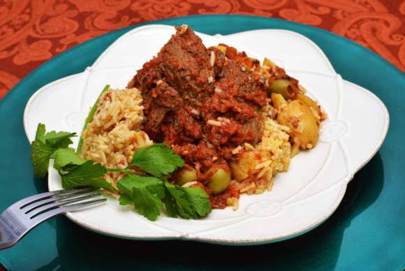 Evie's Carne Asada (Spanish Pot Roast)