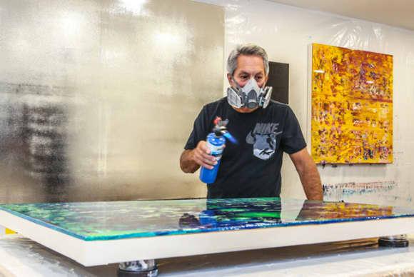 Profits & Passions: Home builder Robert Georgio brings design sensibilities to the canvas
