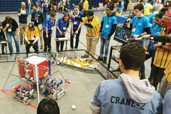 Pace University hosts robotics competition