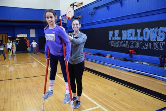 No Dread, Just Fun During Phys Ed At This Westchester School