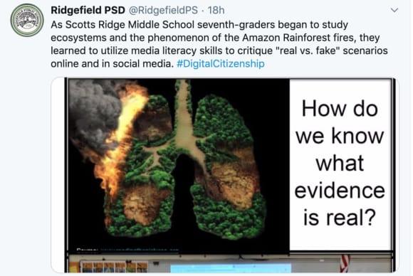 Around Fairfield Schools: Fake News In Ridgefield, Greenwich Dedication, Student Wins