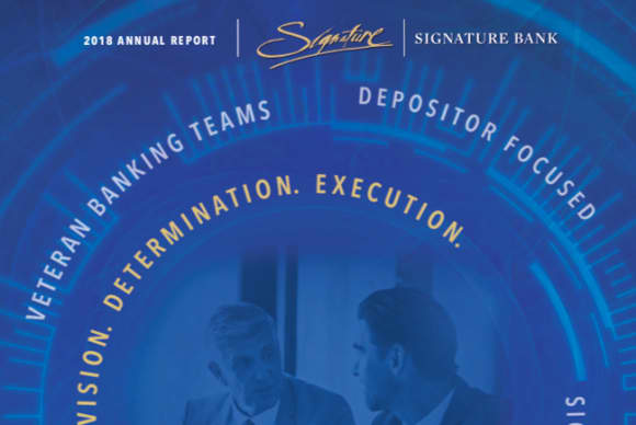 Signature Bank tops three categories in Law Journal survey