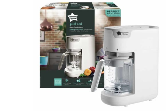 Stamford's Tommee Tippee debuts Quick-Cook Baby Food Maker