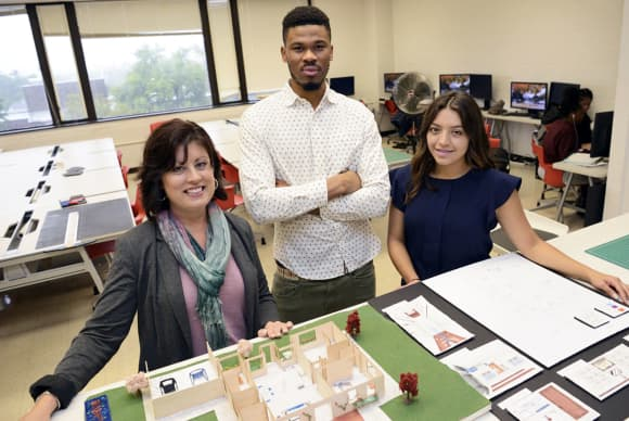 University of Bridgeport students win residential accessibility design competition