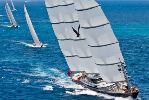 The high life on the high seas
