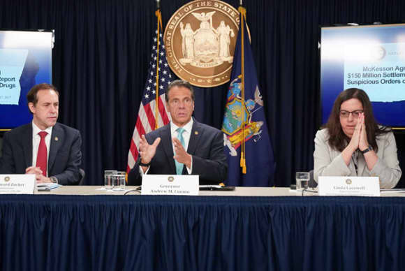 New York state seeking $2B from opioid industry