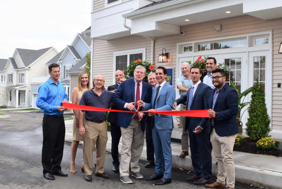 Developer says Stamford housing complex 'already 71% sold' as of ribbon-cutting