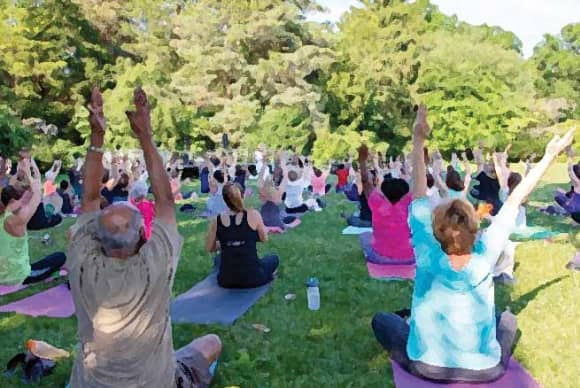 ConnectiCare offering Yoga in Our City in Bridgeport