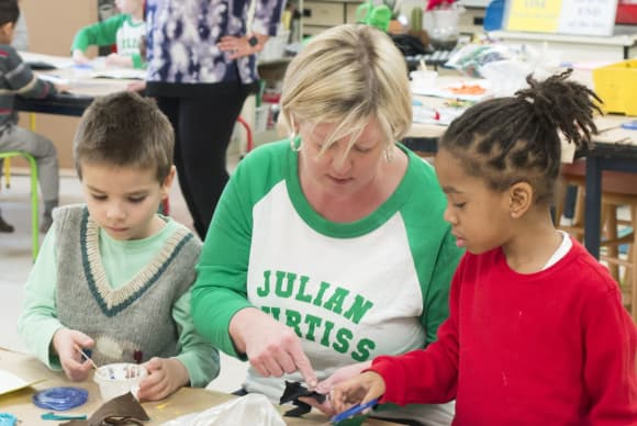 Art Comforts & Inspires Children, Says Award-Winning Educator In Fairfield County District