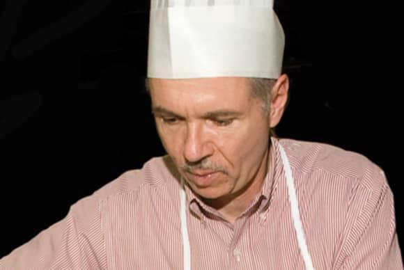 An arresting chef