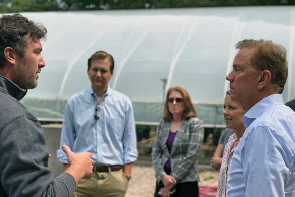 Gov. Lamont touts success of hemp-growing pilot program