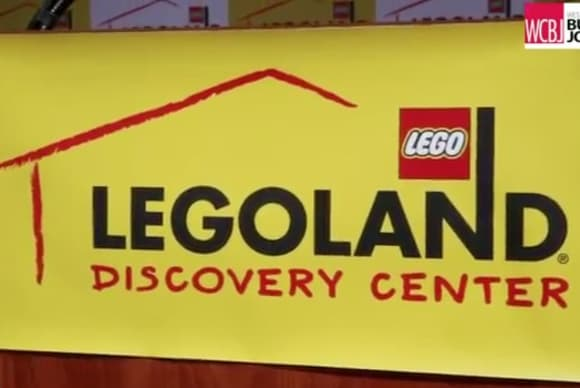 WCBJ Yonkers Mayor Mike Spano and James Burleigh on Legoland opening at Westchester's Ridge Hill