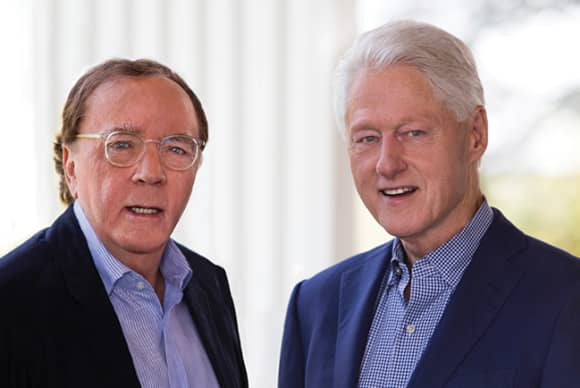 Along came James Patterson – and Bill Clinton
