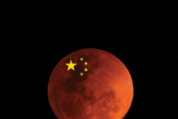 China shoots for the moon
