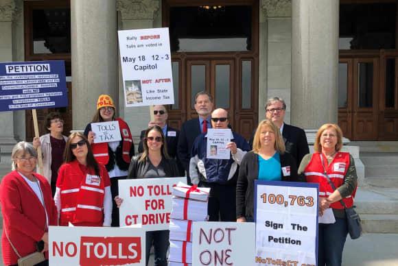 Big money vs. grassroots efforts part of fierce toll debate in Connecticut