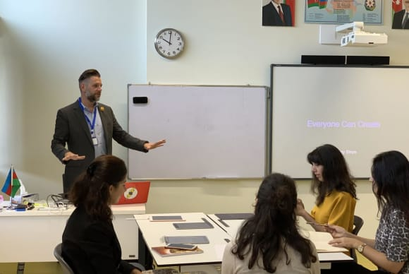 New Rochelle Teacher Brings 'Poetry Project' To Azerbaijan