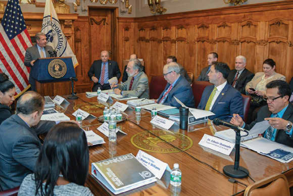 Yonkers $1.5 billion budget includes layoffs, tax hike