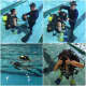 Students from the Pathway Academy worked with members of the Norwalk Police Department Dive Unit.