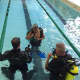 The Norwalk Police Dive Unit worked with students from Pathway Academy.