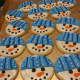 Snowmen cookies by Butterflake Bake Shop in Teaneck.