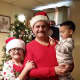 Manolis, Maria and Yianni last Christmas.