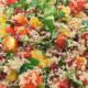No Fuss Lunch Quinoa Salad.