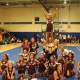 The Ossining Little League Cheerleaders won the Spirit Competition at the third annual Westchester Youth Football League Showcase Saturday night.
