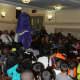 Mount Vernon elementary school students enjoyed OLI the Octopus' grand unveiling last year.